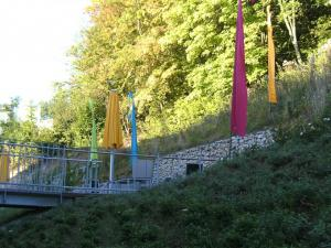 Zamenhof Stuttgart barrierefreie Brücke in den Garten