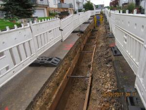 Kanalgrabenverbau
