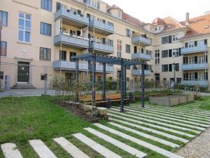 Böheimsiedlung Sanierung der Außenanlagen